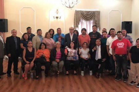 Sostiene Graco Ramírez encuentro con migrantes en California