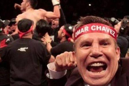 Julio César Chávez restriega victoria de su hijo frente al 'Inocente'