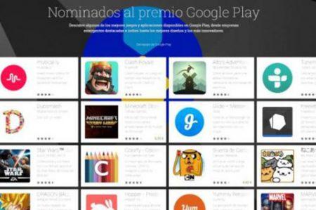 Conoce a los nominados a lo mejor de Google Play