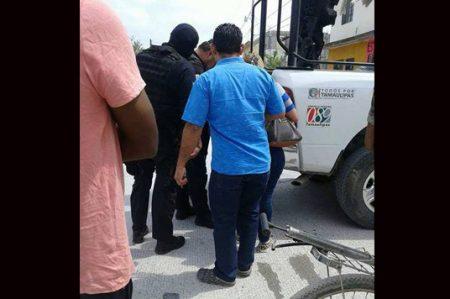 Policías salvan a ladrón de linchamiento en Reynosa