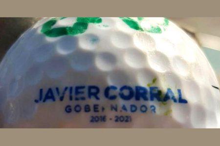 Javier Corral tiene sus propias pelotas de golf