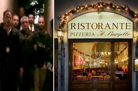 Entre pizzas y arte; la última cena en libertad de Yarrington