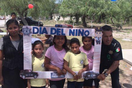 Policía Federal celebra el Día del Niño en San Fernando