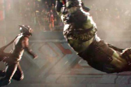 'Thor' y 'Hulk' pelean en nueva cinta de Marvel