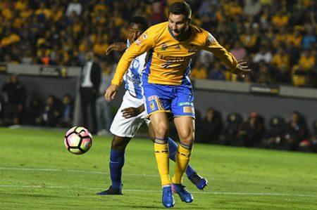 Con apuros Tigres saca empate 1-1 ante Pachuca