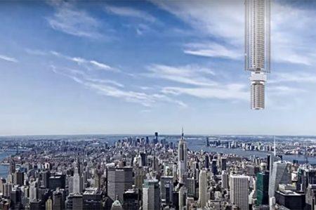 ¿Te atreverías a vivir en un edificio que pende de un asterióde? (VIDEO)