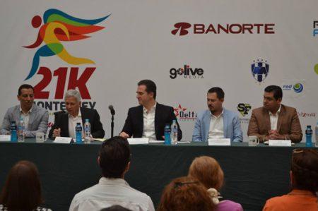 Anuncian detalles de Carrera 21K Monterrey 2017