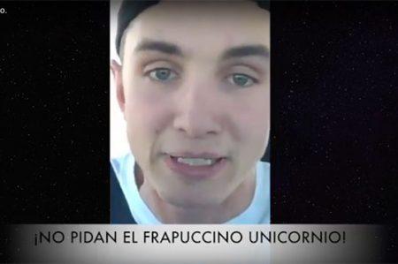Barista de Starbucks está harto del Frapuccino Unicornio (VIDEO)