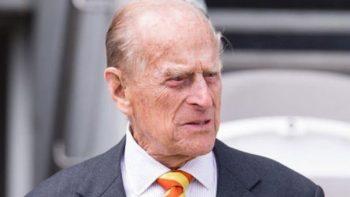 El príncipe Felipe de 96 años, esposo de la reina Isabel II, anuncia su retiro