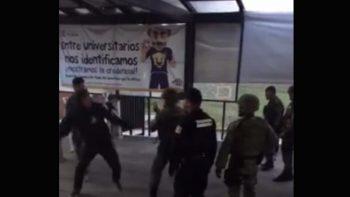Analiza Sedena video de agresión a militares en la FES Acatlán