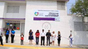 Inauguran Centro Círculos DIF en Santa Catarina