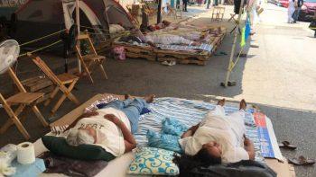 Enfermera abandona huelga de hambre por delicado estado de salud