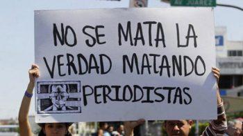 Periodistas toman las calles para exigir justicia