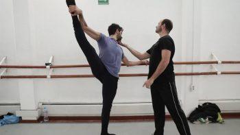 Hombres defienden carrera en el ballet