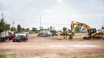 Inician trabajos para reconstruir tianguis pirotécnico en Tultepec