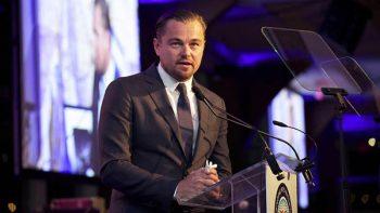 DiCaprio pide a Peña Nieto salvar a la vaquita marina