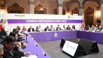 Se aprueban proyectos para la aplicación de recursos del Fondo Metropolitano 2017