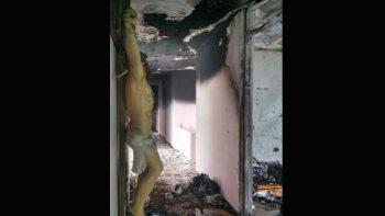 Se incendia convento en Ciudad Victoria
