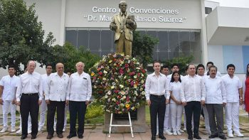 Narro Robles pone en marcha el primer hospital general en Yajalón, Chiapas