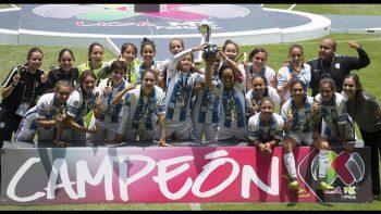 Tuzas del Pachuca, campeonas de la Copa Femenil