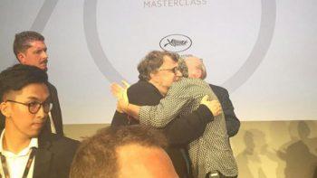 Del Toro acude a clase de Alfonso Cuarón en Cannes
