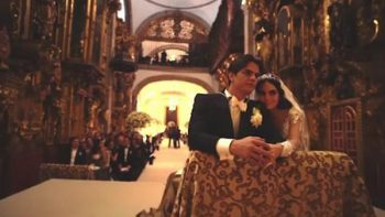 Ximena Navarrete comparte emotivo video de su boda