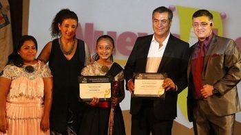 Reconoce fundación internacional a Natalia, la niña vocera del Gobierno Ciudadano