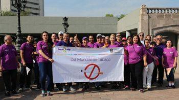 Conmemora Nuevo León Día Mundial sin Tabaco