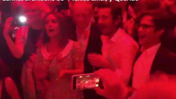 Salma, Gael y Luna cantan en Cannes al ritmo de mariachi (VIDEO)