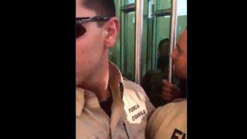 Impiden ingreso al debate a legisladores panistas (VIDEO)