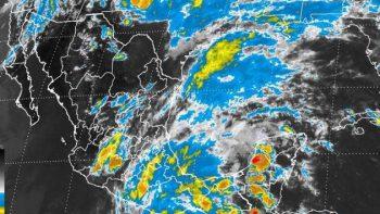 Pronostican lluvias en varios estados por depresión tropical