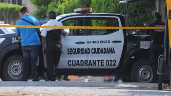 Policía frustra robo y muere baleado en Ecatepec