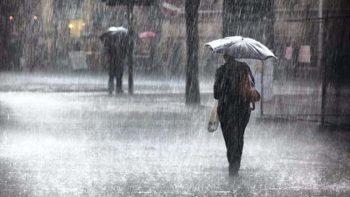 Pronostica SMN lluvias para este miércoles