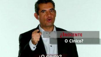 '¿Eres tan inocente o cínico?', pregunta Ochoa Reza a AMLO