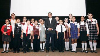 Premian a los mejores niños oradores de escuelas nicolaítas