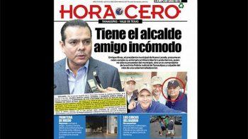 Alcalde de Nuevo Laredo, Enrique Rivas, tiene amigo incómodo