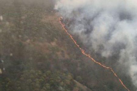 Emergencia atmosférica en Guadalajara por incendio en La Primavera