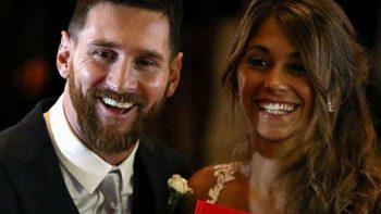 Así fue la boda de Lionel Messi