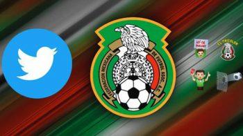 Twitter lanza emoji exclusivo para apoyar a Selección Mexicana
