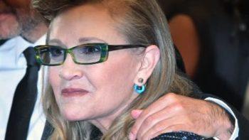 Reportan que 'apnea del sueño' causó la muerte a Carrie Fisher