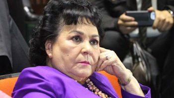 Carmen Salinas alza la voz contra el abuso sexual
