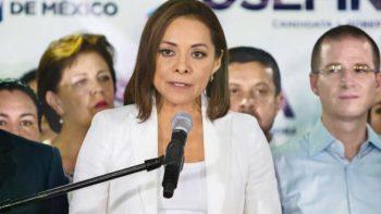 Vázquez Mota admite que los votos no la favorecen