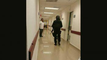 Ingresan hombres armados al Hospital de Pemex; se van sin violencia