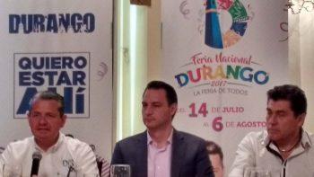 Presentan Feria Nacional Duranguense 2017