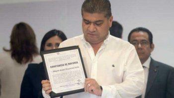 Riquelme llama a la reconciliación en Coahuila