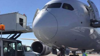 Senado debe revisar propuesta de agentes armados en vuelos