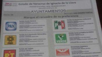 Destruyen más de 642 boletas electorales en Veracruz