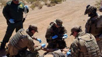 Grupos Beta recorren frontera en auxilio a migrantes por altas temperaturas