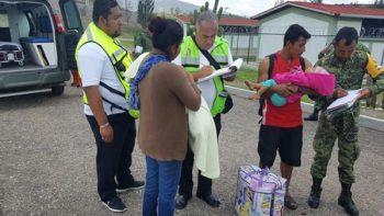 'Calvin' daña al menos mil 200 casas en Oaxaca