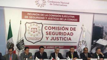 Conago y Osorio Chong se reúnen para atender temas de seguridad
